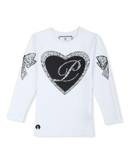 T-shirt Round Neck LS Pride Cami