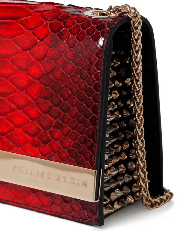 """shoulder bag M """"reptilia"""""""