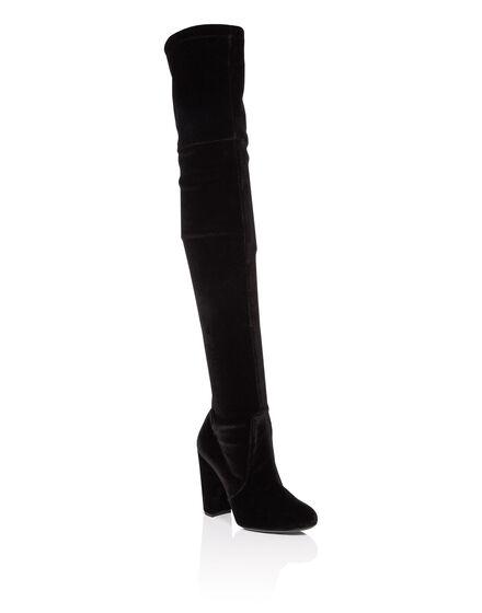 Boots Hi-Heels Overknees desirèe