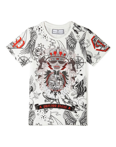 T-shirt Round Neck SS Dacio Stemma
