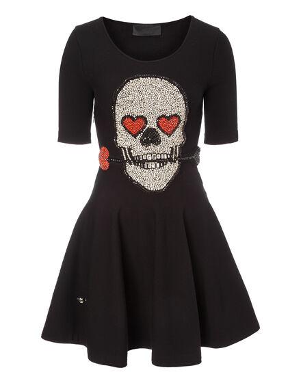 Knit Day Dress Skull Twenty