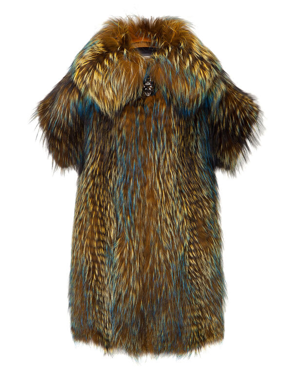 "fur coat ""chamaleo"""