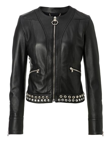 Leather Jacket Brickston