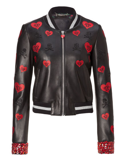 Leather Bomber Frios