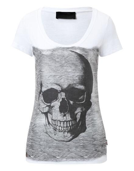 T-shirt Round Neck SS Nebula Silver