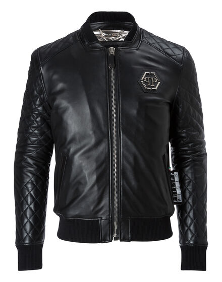Leather Bomber Major