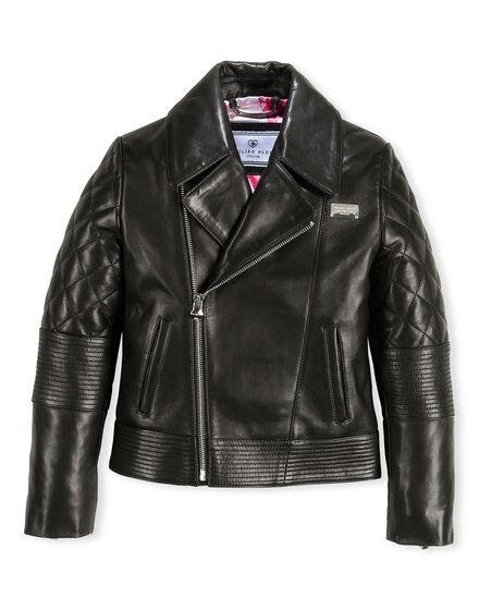 Leather Biker Dreamy Teddy