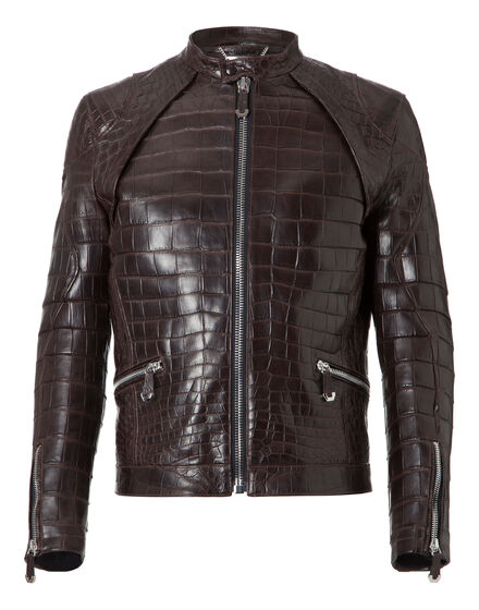 Leather Bomber Jeffrey
