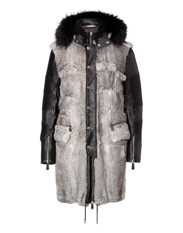 "fur coat ""porto"""