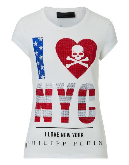 T-shirt Round Neck SS NYC