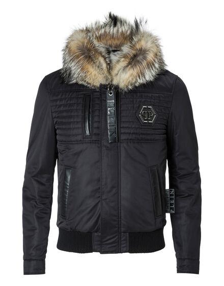 Nylon Jacket Natural