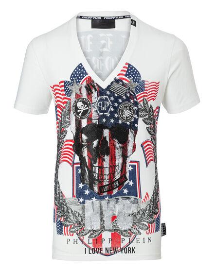 T-shirt V-Neck SS don