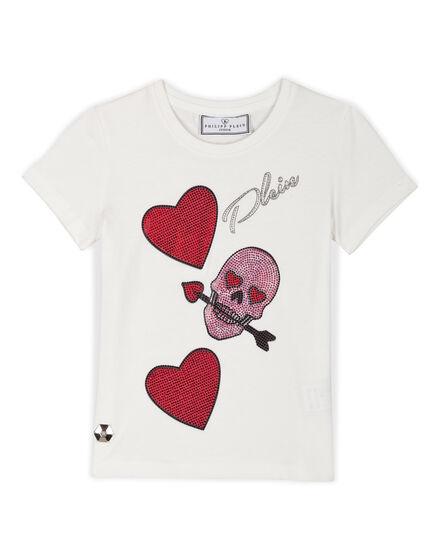 T-shirt Round Neck SS Honey Swan