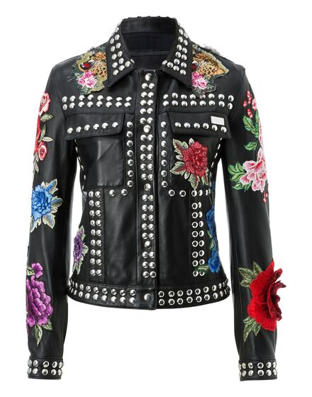 Leather Jacket Mantoni