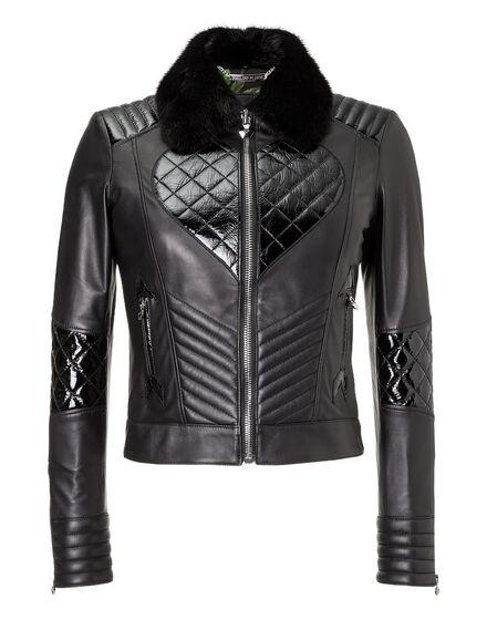 Leather Biker Desim