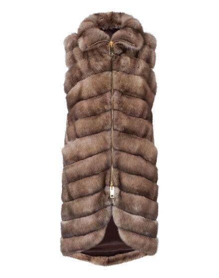 fur coat shameless