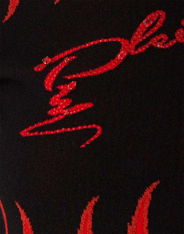 """PHILIPP PLEIN Pullover """"Aichemilla"""" in Black"""