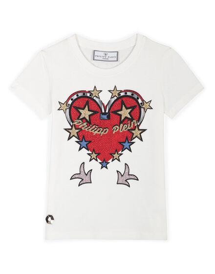 T-shirt Round Neck SS Honey Lips