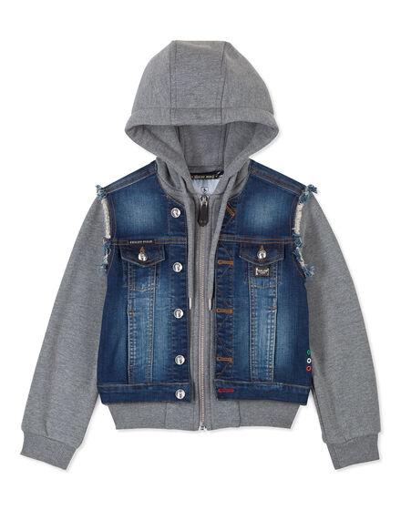 Denim Jacket Good Vibes