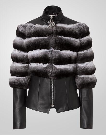 leather jacket super girl