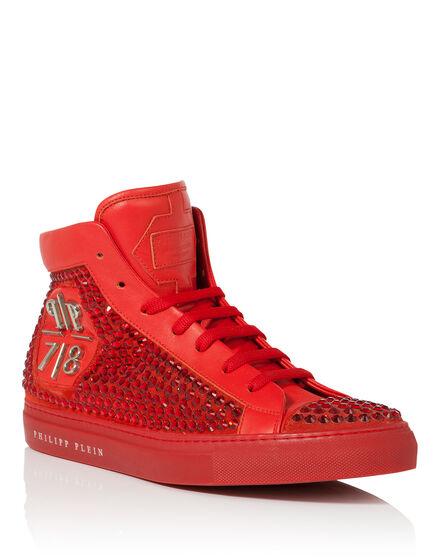 high sneakers rainbow warrior