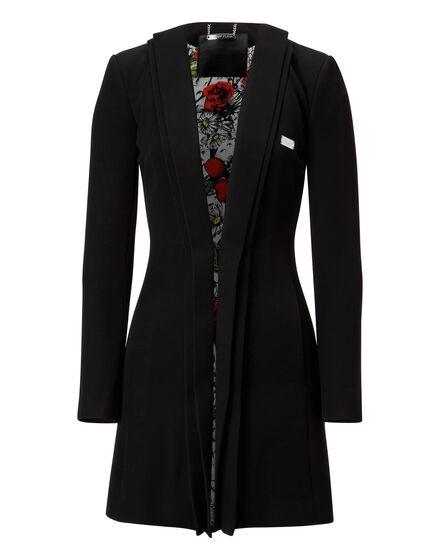 Coat Long Penelope Dark