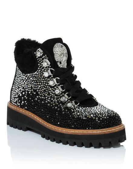 Boots Low Flat san