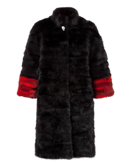 Fur Coat Long Anderson Mill