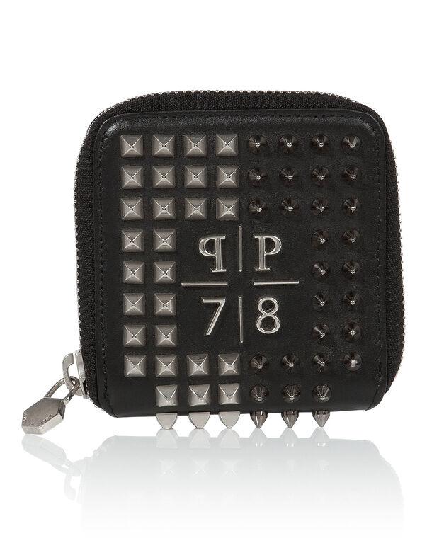 """zip wallet small """"pineapple"""""""