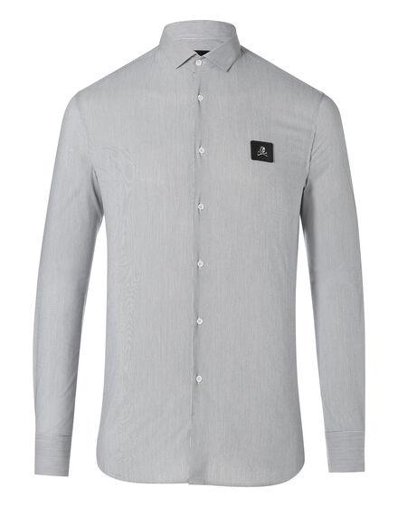Shirt Diamond Cut LS Noted