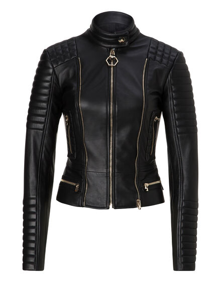 Leather Biker High Line
