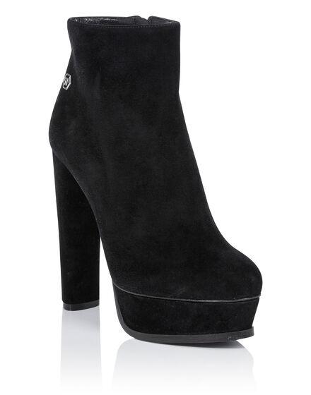 bootie high heels claudya