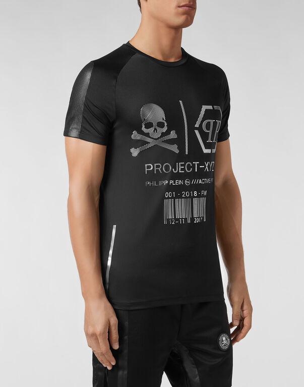 T-shirt Round Neck SS XYZ Logos