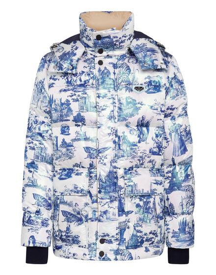 Nylon Jacket  print En PLEIN air