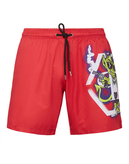 Beachwear Short Trousers Bad Devil