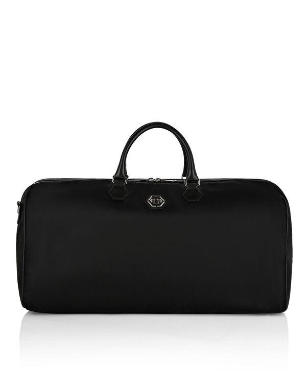 Nylon Big Travel Bag Hexagon