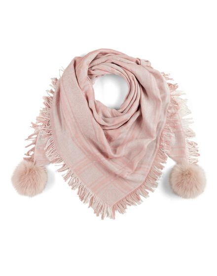 Square Scarf Pink Paradise