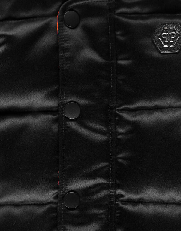 Long Down Jacket Iconic Plein