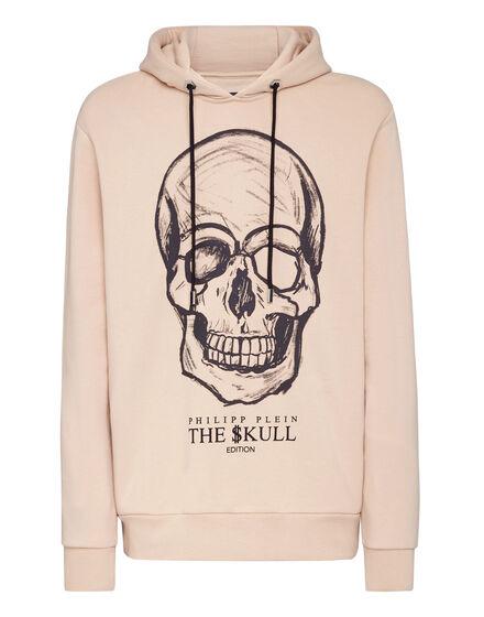Hoodie sweatshirt print Skull