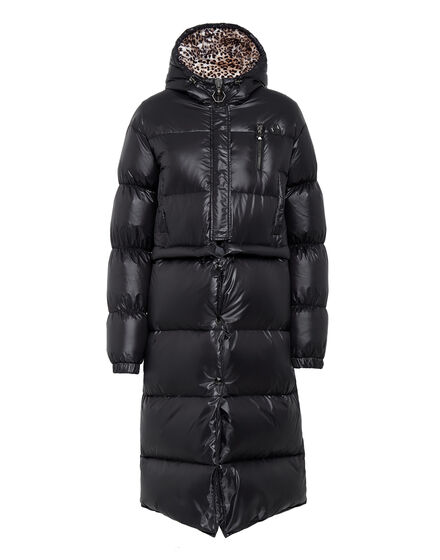 Long Down Jacket Flame