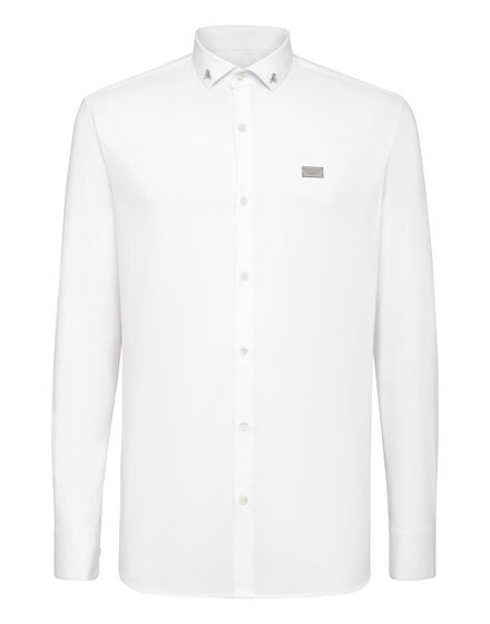 Shirt Platinum Cut LS Iconic Plein