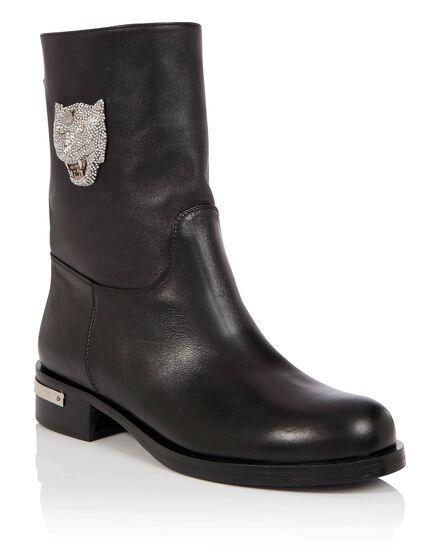 Boots Mid Flat Never regret