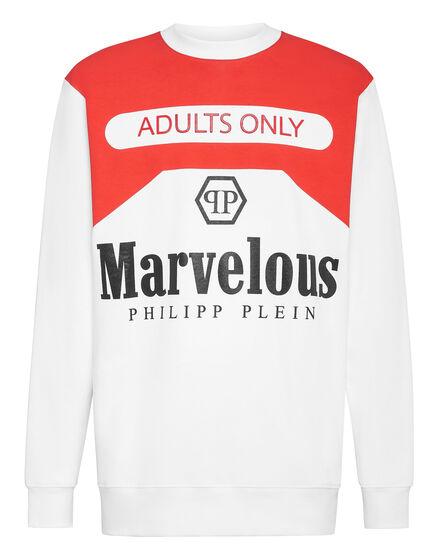 Sweatshirt LS print Marvelous