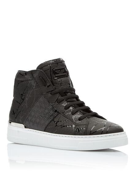 Hi-Top Sneakers Black one