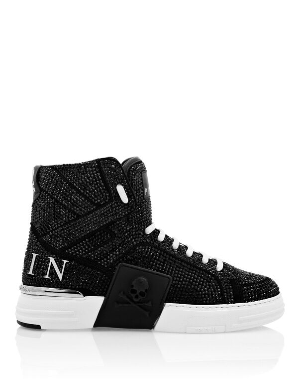 PHANTOM KICK$  Hi-Top Sneakers Iconic Plein