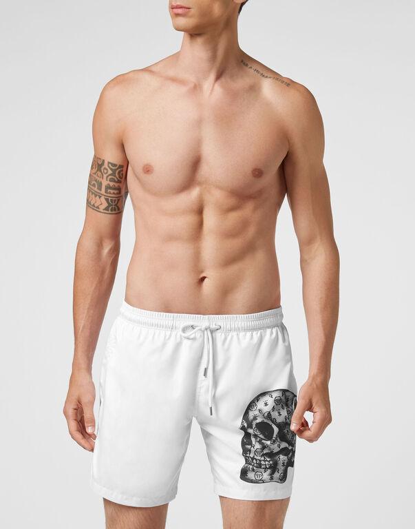 Beachwear Short Trousers Skull