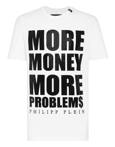 T-shirt Round Neck SS MORE MONEY MORE PROBLEMS