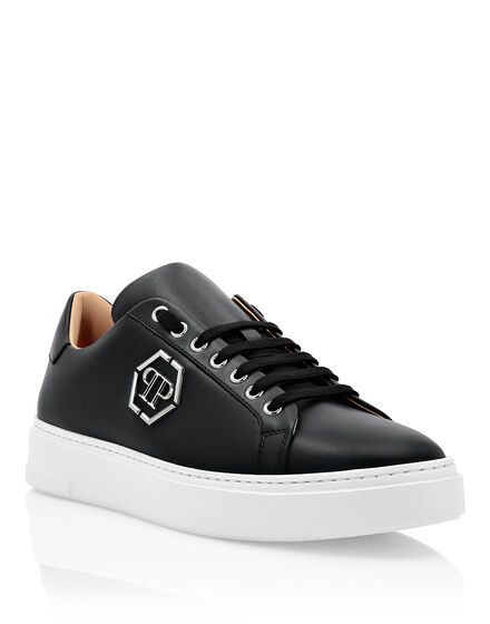 Leather Lo-Top Sneakers The Plein Original TM