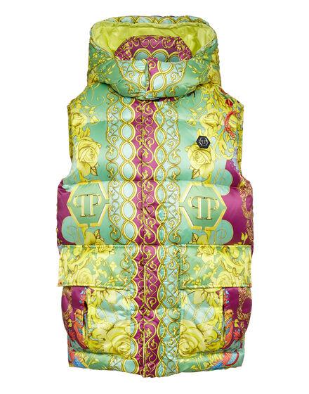 Nylon Short Vest print New Baroque