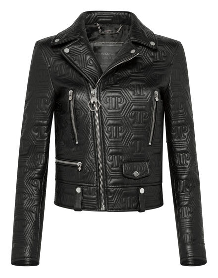 Leather Biker All over PP
